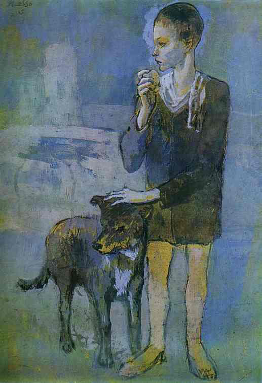 Picasso_boy_with_dog