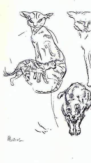 Pierre_bonnard_dog_cats_companions