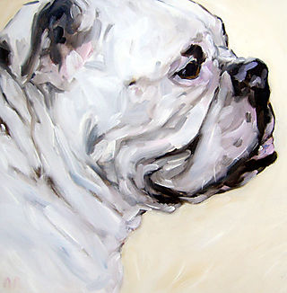 English_bulldog_painting