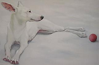 Ohara_white_dog_art
