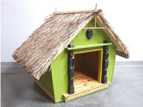 Tiki_dog_house
