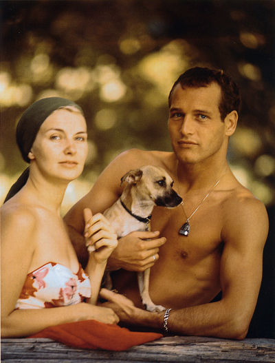 Paul_newman_joanne_woodward_dog