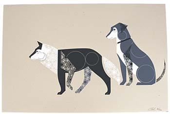 Dog_wolf_print