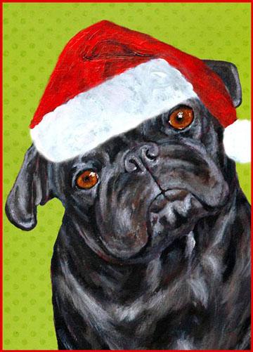 Pug_christmas_card