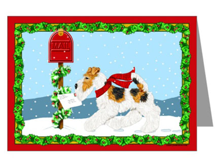Wire_fox_terrier_christmas_card