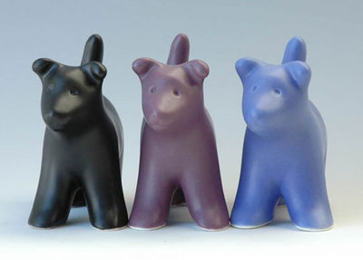 Clay_dog_statues