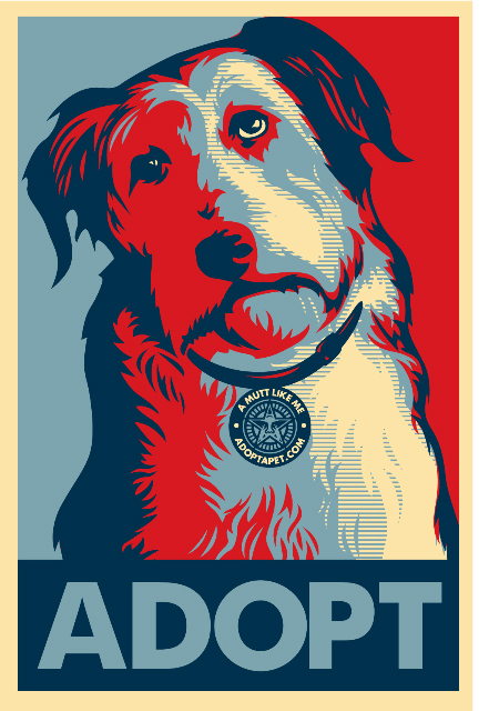 Shepard_fairey_dog_poster