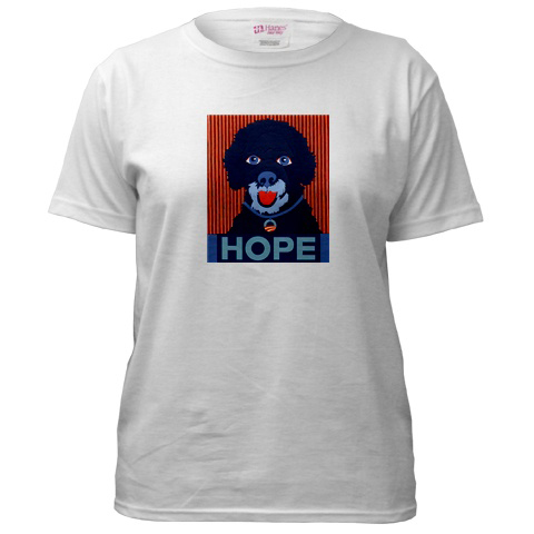 Porties-for-obama-t-shirt