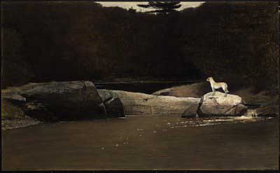 Dog Art Today: Andrew Wyeth Dies at 91