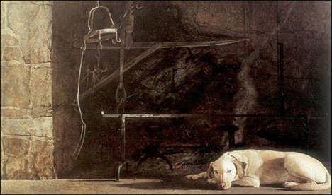 Dog Art Today Andrew Wyeth Dies At 91