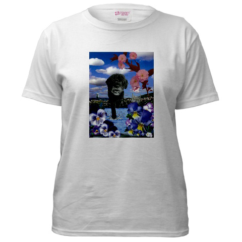 Portuguese_water_dog_t_shirt