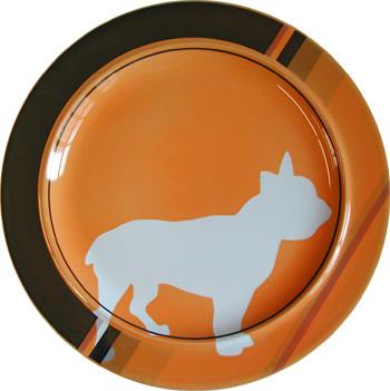 French_bulldog_plate