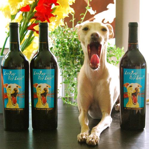 Dog_art_wine_label_contest