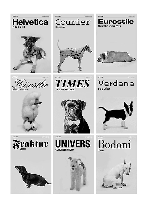 If_fonts_were_dogs