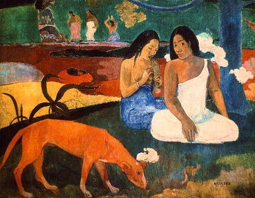 Paul_Gauguin.arearea_dog