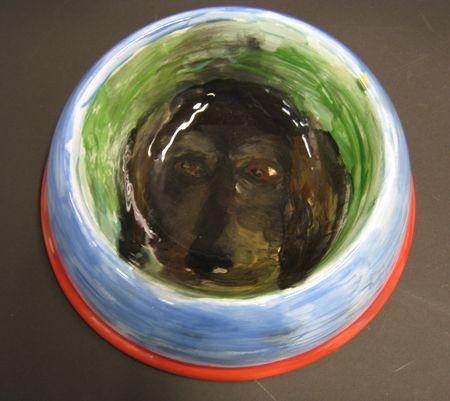 Ross_bleckner_dog_bowl