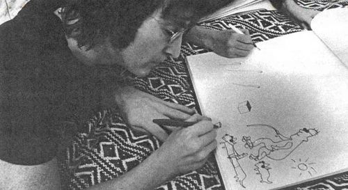 John_lennon_drawing