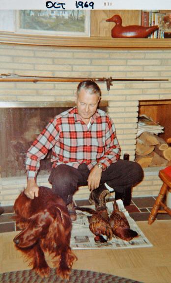 Rusty and Grandpa 1969