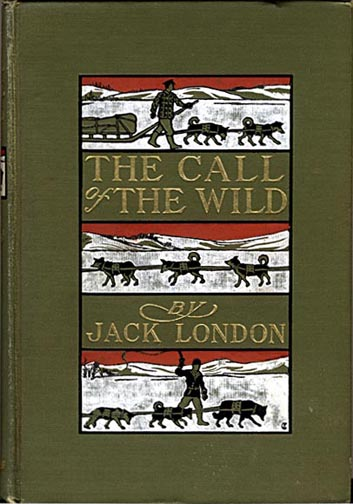 The Call of the Wild first edition book cover, published in 1903