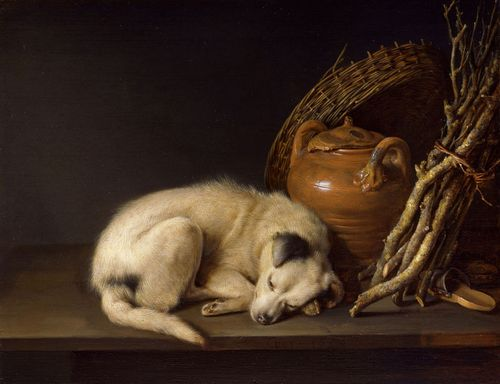 Gerrit_Dou_still_life_with_dog