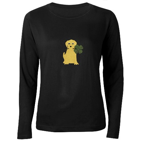 Lucky_yellow_lab_t_shirt
