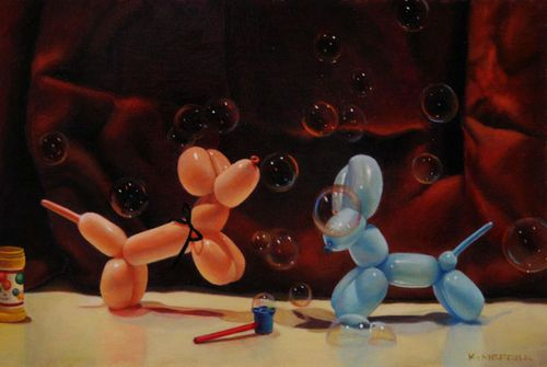 Kimberly_merrill_balloon_dog_painting