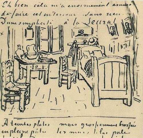 Vincent_van_Gogh_-_Vincent's_Bedroom_-_Lettersketch_17_October_1888