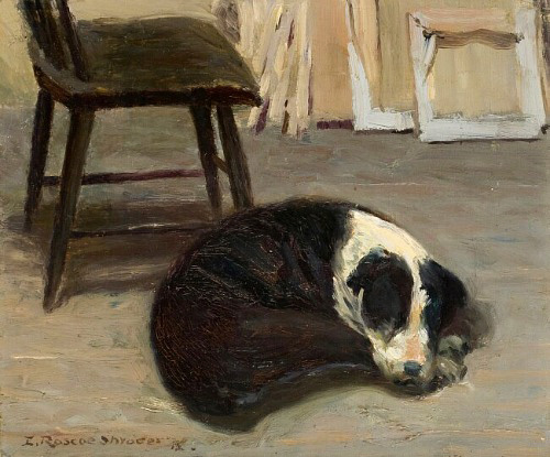 Dog_sleeping_edwin_roscoe_shrader