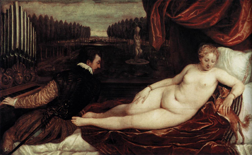 Venus_organist_and_little_dog_titian