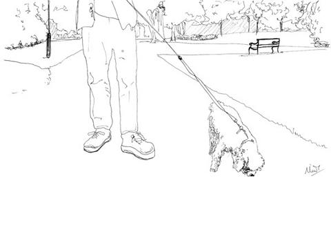 Minnie_teckman_dog_walk_1