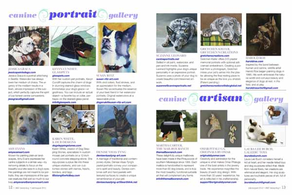 Magazine Family Dog Club's Family Dog Magazine