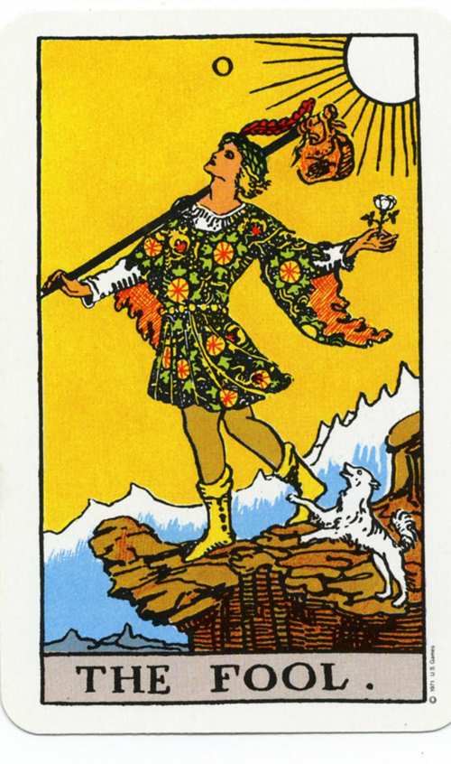 The_fool_tarot_rider_waite
