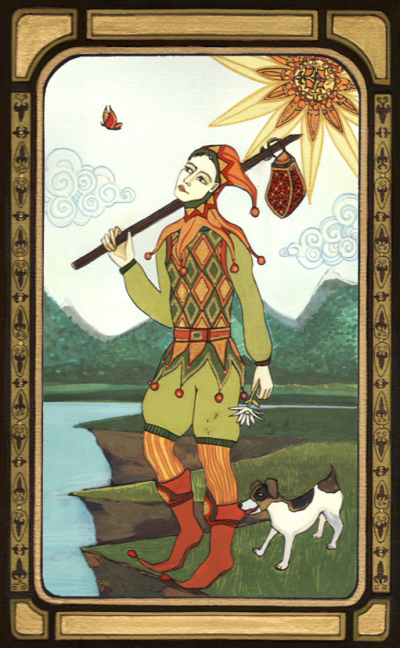 The_fool_tarot_melissa_launay
