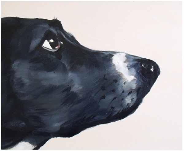Ian_healy_dog_painting_waiting