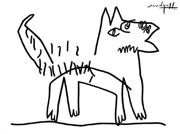 Le-chien-the-dog-christopher-mudgett