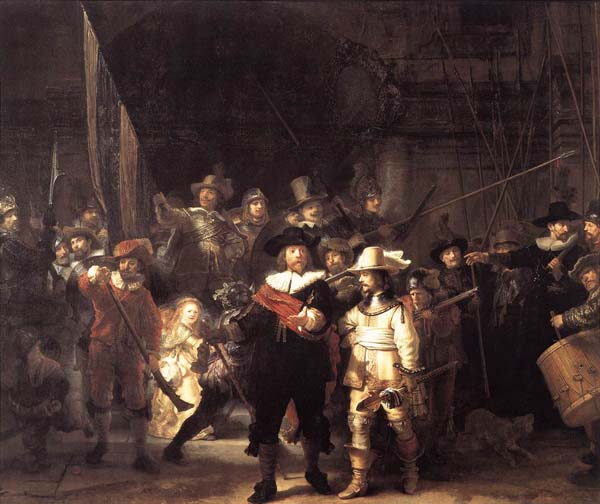 Night watch-rembrandt