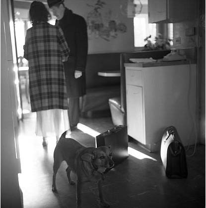 Vivian-maier-dog-and-couple-kitchen