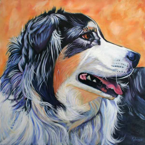 Kathryn-wronski-grass-valley-dog-artist-winnie-emma-nevada-house