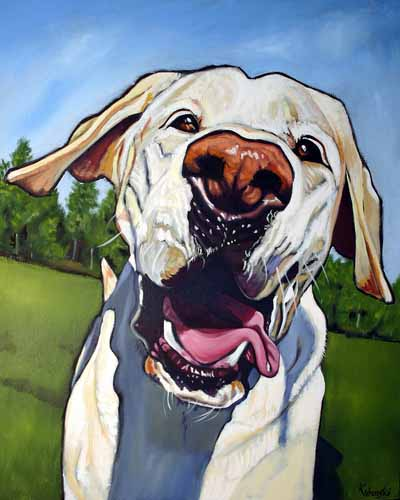Kathryn_wronski_dog_artist_babs
