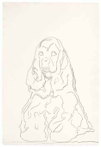Andy-warhol-dog-drawing-1