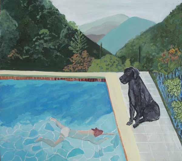 Judy-henn-dog-painting-july