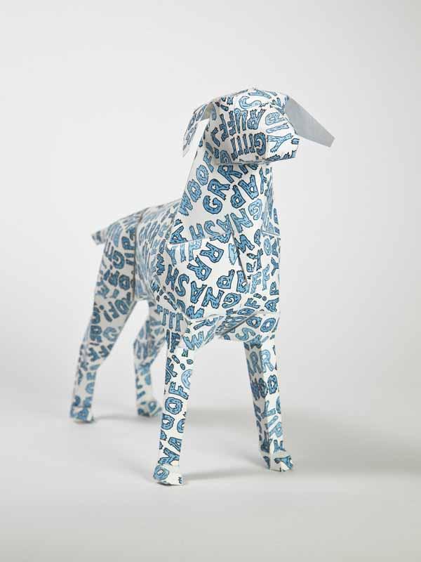 Gerald-paper-dog-art-woof-grr-yap