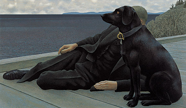 Dog Art Today Alex Colville Dies At 92