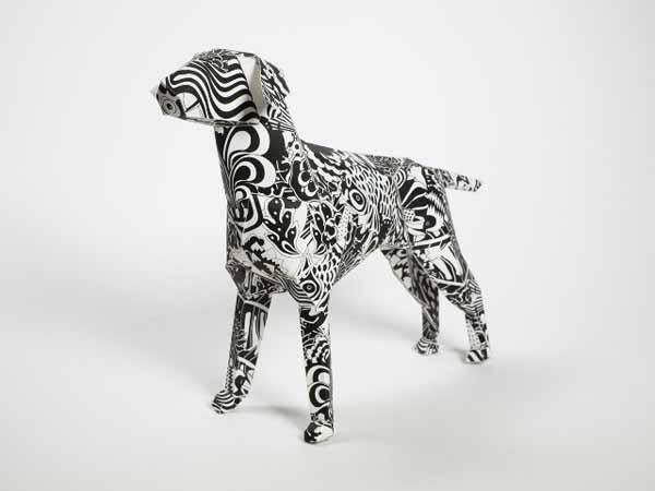 Gerald-paper-dog-art-peggy