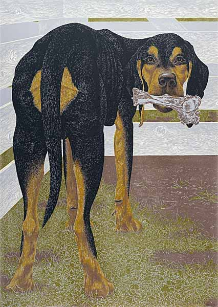 Alex-colville-dog-and-bone-1961