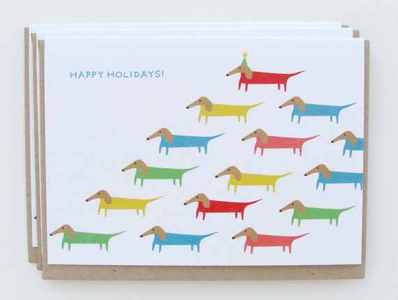Dachshund-holiday-christmas-cards