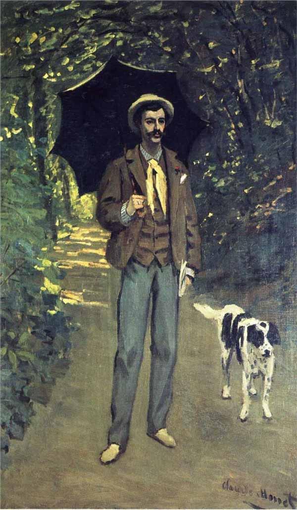 Victor-Jacquemont-Holding-a-Parasol-by-Claude-Monet-1865