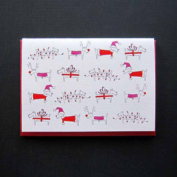 Dog-holiday-christmas-card-by-LO-in-London