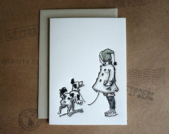 Letterpress-holiday-card-with-dog-sweetpeonypress
