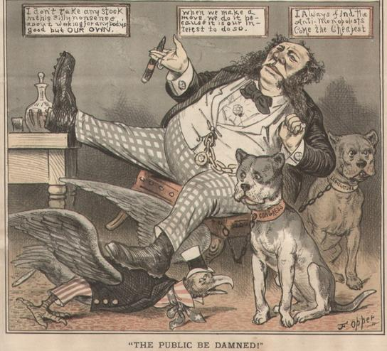 The-Public-Be-Damned-Gilded-Age-cartoon-by-Frederick-Burr-Opper-1882